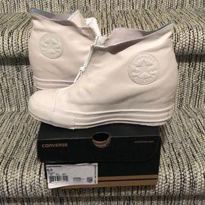 Converse Wedge Sneakers 6.5